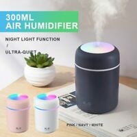 3D Moon Lamp USB 880mL Air Humidifier Aroma Mist Diffuser