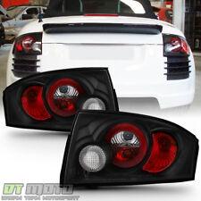 Black 1999-2006 Audi TT Quattro Tail Lights Brake Lamps 99 00 01 02 03 04 05 06