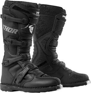 Blitz XP Dirt Bike Boots - Black MX Sole Men's US-Size 12 Thor 3410-2214