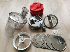 Zubehör für Küchenmaschine Bosch MUM 5 : Würfelschneider & Durchlaufschnitzler