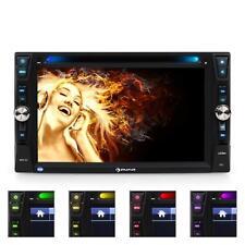 "Auna Mdv-481 Autoradio Multimediale Bluetooth Dvd Usb Display Hd 6,2"" Microfono!"