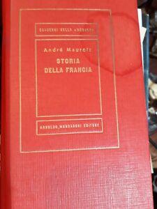storia della francia andre' maurois mondadori 1952 prima edizione