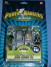 Power Rangers Micro Zeo Zord IV Polly Pocket 100% En Caja De Tipo