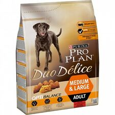 Food PURINA Pro Plan Medium Duo Delice Ox For Dogs Adults Race Medium