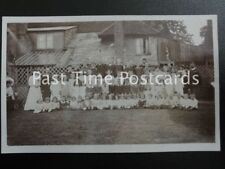 Antique RPPC - School Group Photograph - Unknown Location