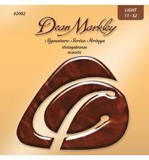 Dean Markley 2002A Vintage Bronze Light - Jeu guitare acoustique