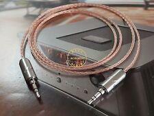 1meter 8N OCC Copper Stereo 3.5mm Audio Cable Aux Rhodium Furutech Plug HI END