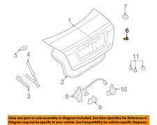 FORD OEM Trunk Lid-Bumper W712985S300