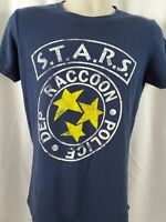 Raccoon City Police Dep Resident Evil T-Shirt VINTAGE S.T.A.R.S LOGO T-SHIRT