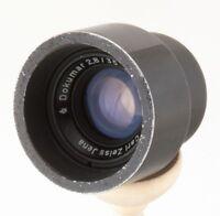 DOKUMAR 35mm f/2.8 CARL ZEISS Jena DDR lens BMPCC NEX MFT E-P3 NIKON CX V1 J1