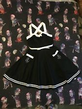 Hell Bunny Plus Size XL Dress. Sailor/Nautical/Anchors.