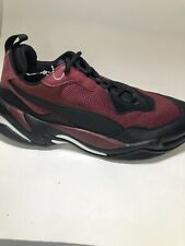 PUMA Thunder Spectra Mens Red Lace Up Athletic Gym Running Shoes