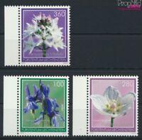 Liechtenstein 1718-1720 (kompl.Ausg.) postfrisch 2014 Blumen (9077534