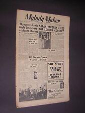 Melody Maker. Jan 21st 1950. Jazz & Swing etc. Musik Magazin. Vintage MAG