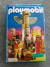Vintage Playmobil 3873 Totem Pole Warriors 1996 Collectible