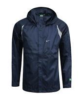 Nike Mens Full Zip Up Hooded Windrunner Training Jacket Coat Navy 143471 451 PP