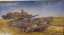 Heller 1/35 Leopard II German Tank Model Kit 81139 New