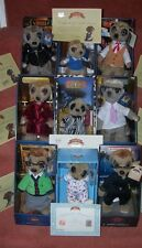 MEERKAT TOYS FULL SET OF 9  + IMMEERGRATION PAPERS