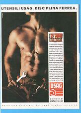 MOTOSPRINT989-PUBBLICITA'/ADVERTISING-1989- USAG UTENSILI PROFESSIONALI