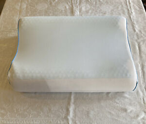 Sleep Innovation Gel Contour Memory Foam Pillow for Neck Shoulder Pain