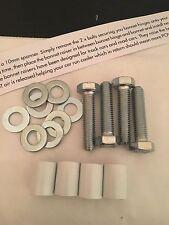 12mm Bianco Lucido COFANO RAISERS CITROEN SAXO 1.1 1.4 VTR / VTS PEUG 106 306