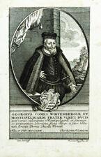 c1760 Georg I. Württemberg-Mömpelgard Kupferstich-Porträt Rugendas
