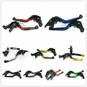 Extending Folding Brake Clutch Levers Pair Anodized For  S1000R/RR FXCNC