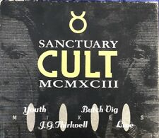 The Cult - Sanctuary MCMXCIII 4 Track CD Single