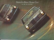 Auto Brochure - Mercedes-Benz 220 220D 250 Coupe Stuttgart Test Track (A1001)