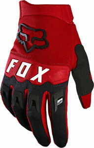 Fox Racing Youth Dirtpaw Full Finger Gloves | Flame Red | M