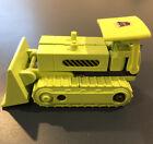 Vintage G1 Transformers 1985 Constructicons Bonecrusher Takara Devastator