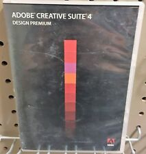 Adobe Creative Suite CS4 Design Premium Photoshop Illustrator InDesign No Fees
