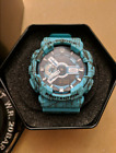 New Casio G-SHOCK GA-110SL-3AJF Teal Splatter Men's Watch