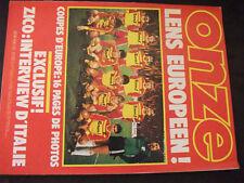 ** Onze n°95 Zico / Coupes d'Europe / Football anglais : Tottenham