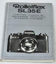 ROLLEIFLEX SL35E - In Six Languages -