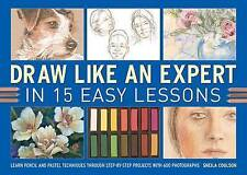USED (VG) Draw Like An Expert In 15 Easy Lessons: Learn Pencil And Pastel Techni