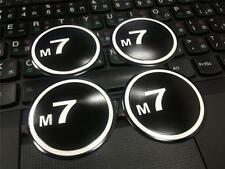 Set of 4pcs M7  WHEEL BADGE for MINI Cooper S JCW R50 R53 R56 R57 R58 in 51mm