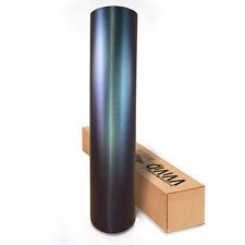 Vvivid 2ft x 5ft Blue-purple carbon fiber chameleon vinyl car wrap film