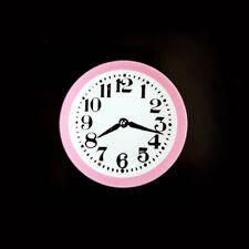 1:12 Scale Dollhouse Miniature Cute Pink Wall Clock #Im65045