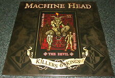 "MACHINE HEAD-KILLERS & KINGS ""THE DEVIL""-2014 RSD 10"" EP RED VINYL-LTD-NEW"