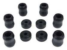 Jeep Polyurethane Complete Set of BLACK Polyurethane Shock Replacement Bushings