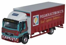 BNIB OO GAUGE OXFORD 1:76 76MAN001 MAN L2000 CURTAINSIDE POLLOCK RIGID LORRY
