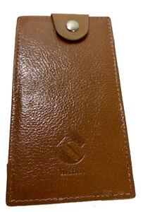 TUFF LUV Fiio M11 / M11 Pro Genuine Vintage Leather Case Cover pouch - Brown