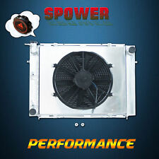 Aluminum Radiator + Fan Shroud For Holden Commodore VL VN VS VP VR VG V8 86-97