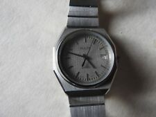 RARE VINTAGE BULER EARLY QUARTZ GENTS WATCH NEW OLD STOCK