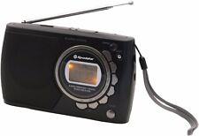 Roadstar TRA-2362D 9 Band Portable Multiband Radio with Digital Alarm Clock