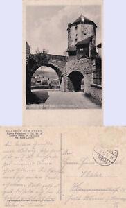 fehlerhaft Nabburg Oberpfalz 17.6.43 Kleinformat Oberes Tor Turm GASTHOF ZUM STE