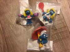 Lot of 3 Smurfs Figures Peyo Schleich