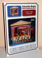 KARTONMODELLBAU THEATER-KRIPPE Weihnachten  SCHREIBER-BOGEN 684