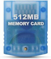 Memory Card for the Nintendo Gamecube Wii 512 MB - FREE SHIPPING - US STOCK